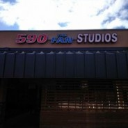 590 THE FAN STUDIOS new wall signage!