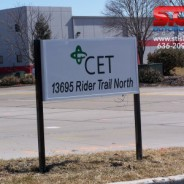Ground Sign for CET